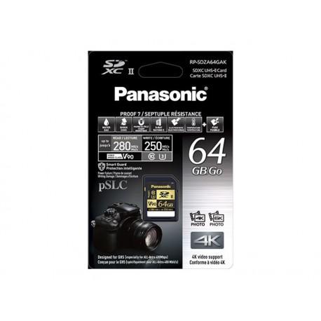 Carte SD Panasonic 64 GO RP-SDZA64GAK