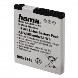 """Hama Batterie Li-Ion """"DP 445"""" pour Panasonic DMW-BCL7"""