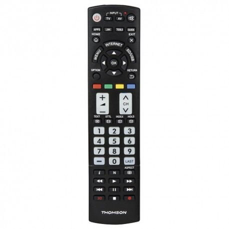 Télécommande THOMSON ROC1105 compatible Panasonic