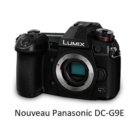 Nouveau Panasonic LUMIX DC-G9 boîtier nu
