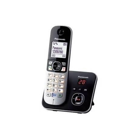 PANASONIC KX-TG6821FRB téléphone DECT répondeur EXPO