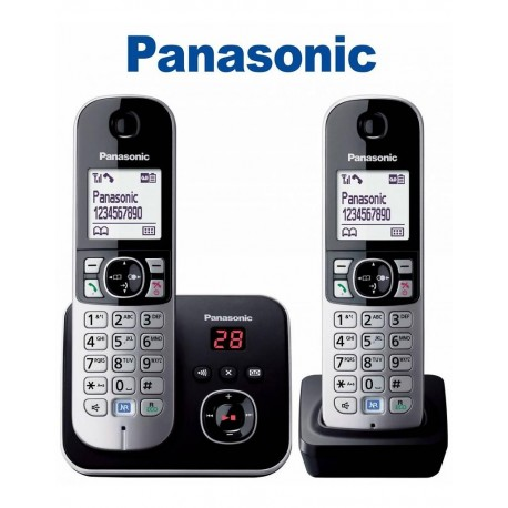 TELEPHONE SANS FIL PANASONIC KX TG 6822 FRB EXPO