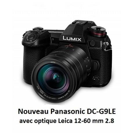 Nouveau Panasonic LUMIX DC-G9 boîtier + optique 12-60 Leica