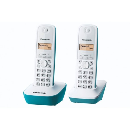 PANASONIC KXTG1612FRC TELEPHONE DECT DUO BLEU EXPO