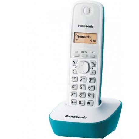 Panasonic KXTG1611FRC téléphone DECT mono bleu