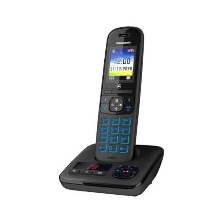 PANASONIC KX-TGH720FRB Téléphone DECT Répondeur