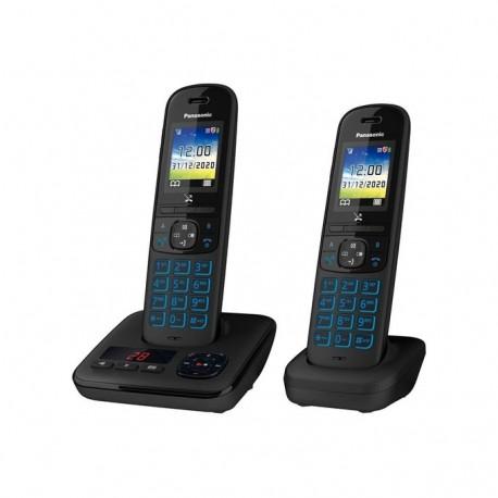 PANASONIC KX-TGH722FRB Téléphone DECT Répondeur Duo