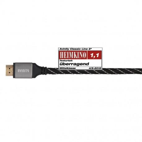 AVINITY 127104 Cordon HDMI 1.50 m spécial 4K UHD