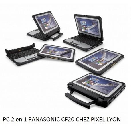 Panasonic TOUGHBOOK CF-20 PC 2 en 1 ultra-durci chez Pixel Lyon