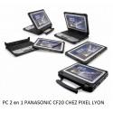 Panasonic CF-20EV001TF PC 2 en 1 écran 10' ultra-durci à Lyon