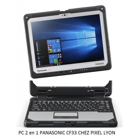 Nouveau Panasonic TOUGHBOOK CF-33 PC Tablette durcie chez Pixel Lyon