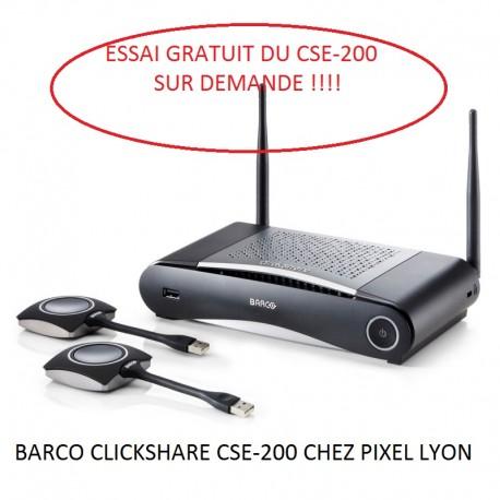 Transmission sans fils BARCO CSE200 + Boutons