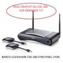 BARCO Clickshare CSE-200 à Lyon transmetteur sans fil avec 2 Boutons