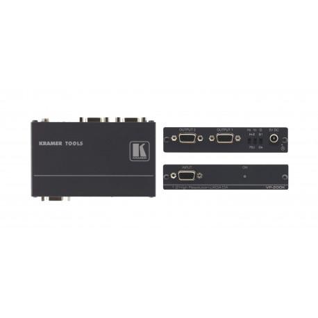 KRAMER VP200 distributeur VGA 1 entrée 2 sorties