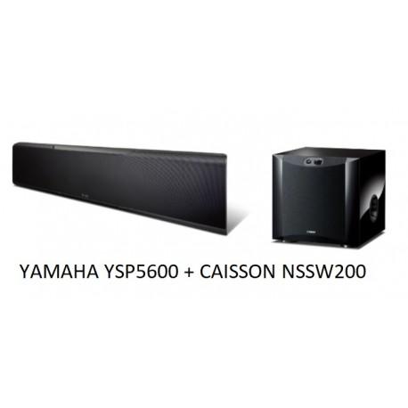 Yamaha YSP-5600 projecteur de son + caisson NSSW200