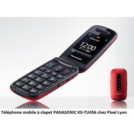 Panasonic KX-TU456EXRE téléphone GSM rouge à Lyon