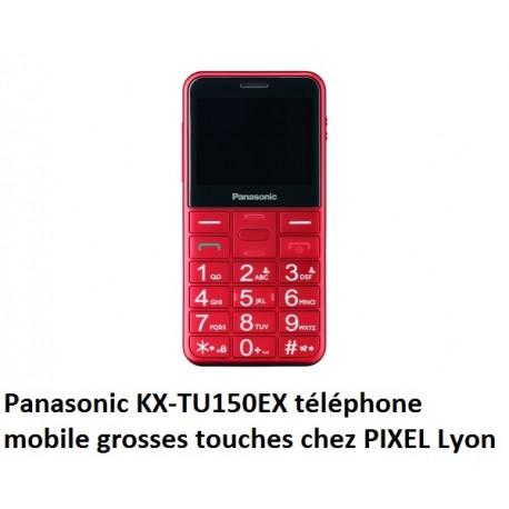 Panasonic KX-TU150EX téléphone GSM rouge à Lyon