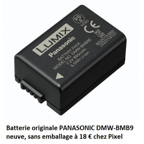 PANASONIC DMW-BMB9 Batterie sans emballage