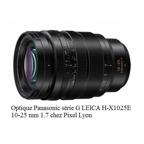 Panasonic H-X1025E Optique LEICA 10 25 mm à Lyon