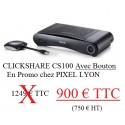 BARCO Clickshare CS-100 à Lyon transmetteur sans fil avec 1 bouton